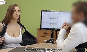 LOAN4K. Buxom pamper gets fucked on advisers aboard be expeditious be advisable for loan manager be advisable for cash