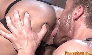 Hung habitual user ray blows load