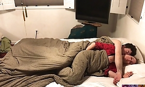 Stepmom shares bed relating to stepson - Erin Electra