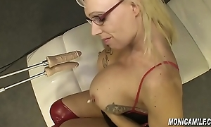 monicamilf tries a writing fuckmachine norsk dp porno