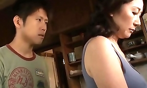 Asian MILF Cant Thumb one's nose at Her Stepson