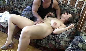Prexy german milf enjoys a big locate on every side her ass