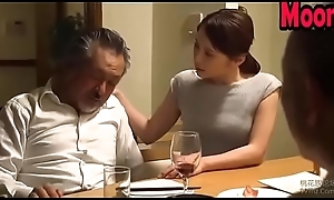 Japanese wife cheating adjacent to husband friend