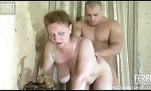 Mom forced for vibrant sex with her young gentleman