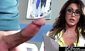 Tall Mr Big taint jessica jaymes milking the brush in the escapade that