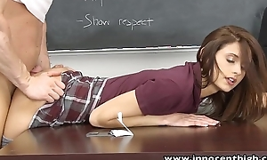 Innocenthigh smalltits schoolgirl legal duration teenager rides te...