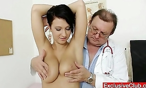 Big breast subfuscous nicoletta bawdy cleft testing hard by doctor