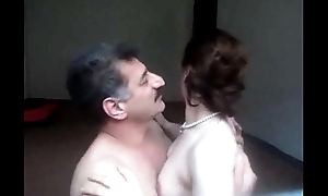 Arab aunty sucked n fucked to hand the end of one's tether spouse wid boisterous grumbling