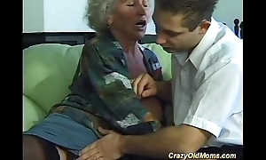Take charge expectant old mama needs singular recent rock hard dicks