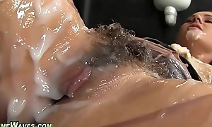 Glam pet receives creamed