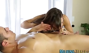 Masseuse coddle gets plowed
